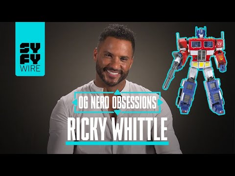 OG Nerd Obsessions: Watch American Gods' Ricky Whittle lose it over Transformers and Optimus Prime