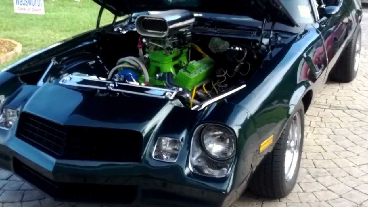 1979 Chevy Camaro Hot Rod For Sale - YouTube
