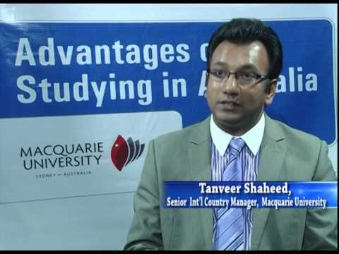Interview with Tanveer Shaheed of Macquarie university Australia.