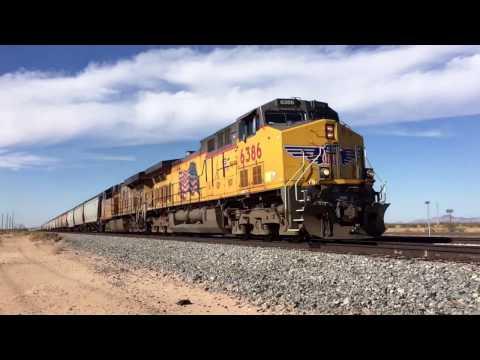 Sunday Railfaning on the Union Pacific Gila Subdivision 11-13