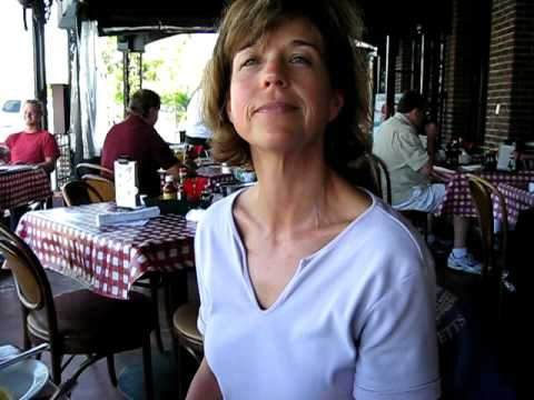 Darcy Wright Dines At King's Fish House, Carlsbad, California