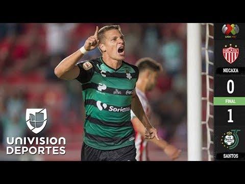 Necaxa 0-1 Santos Laguna - RESUMEN Y GOL - Jornada 11 Apertura 2018 de la Liga MX