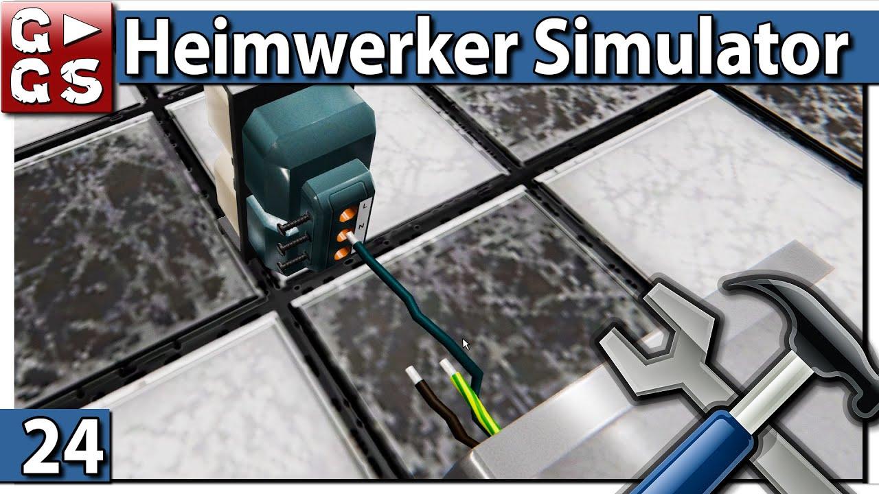 HEIMWERKER SIMULATOR 🛠 offenes Küchendesign ▻ #24 House Flipper ...