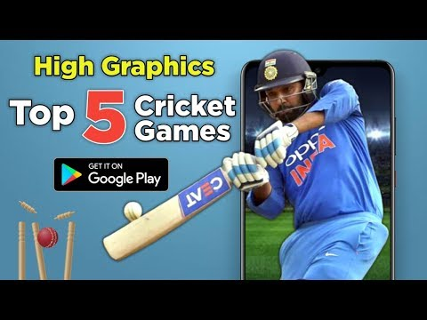 Top 5 High Graphics Cricket Games On Google Playstore Tamil