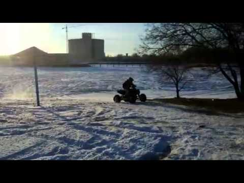 Kawasaki kfx 450r зима 20 15