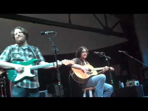 Jesse Aycock and Paul Benjamin open for Lucinda Williams at Cains