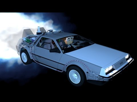If Back To The Future Life WAS IN MINECRAFT - MINECRAFT ANIMATION