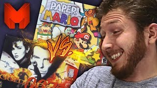 The BEST N64 Games? Paper Mario vs GoldenEye 007 - Madness