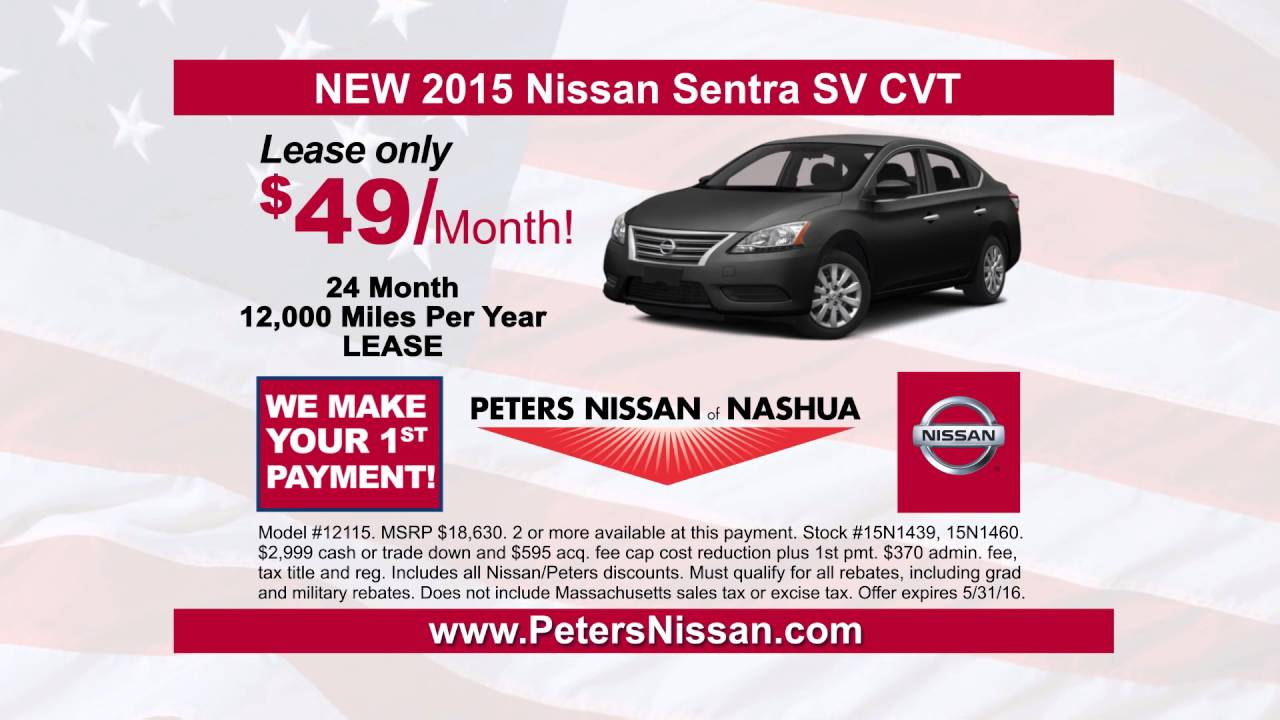 Elegant Sentra Lease Deals At Peters Nissan Of Nashua