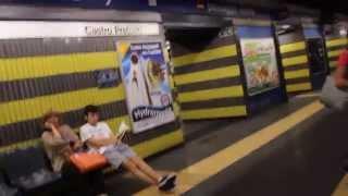 Roma Metro- How to Transfer @ Termini