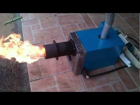 Thumbnail: CONVERSION DE UN QUEMADOR DE GASOIL A BIOMASA (VIDEO -2)