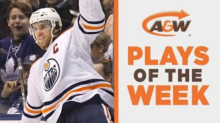 NHL Plays Of The Week: Hockey World In Awe Of Connor McDavid