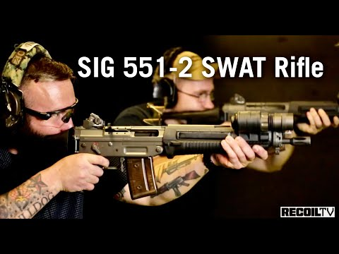 SIG 551-2: A badass SWAT Rifle from YouTube · Duration:  5 minutes 4 seconds