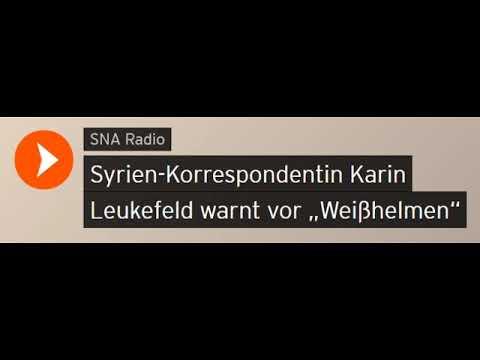 """Syrien-Korrespondentin Karin Leukefeld warnt vor """"Weißhelmen"""" (Sputniknews)"""