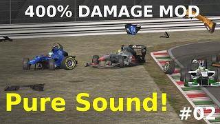 Automobilista HUGE Crashes #02 | 400% Damage Mod | NO MUSIC