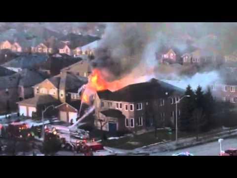Brampton#house# fire