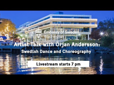 Artist Talk with Örjan Andersson: Swedish Dance and Choreography