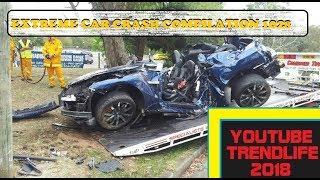 Car Crash very Shock dash camera 2018