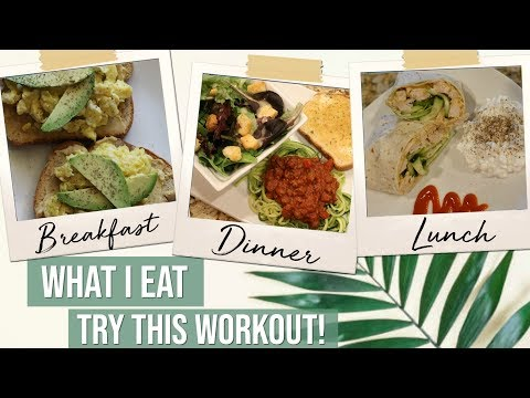 What I Eat | My Pregnant Girl Workout | 19 Weeks