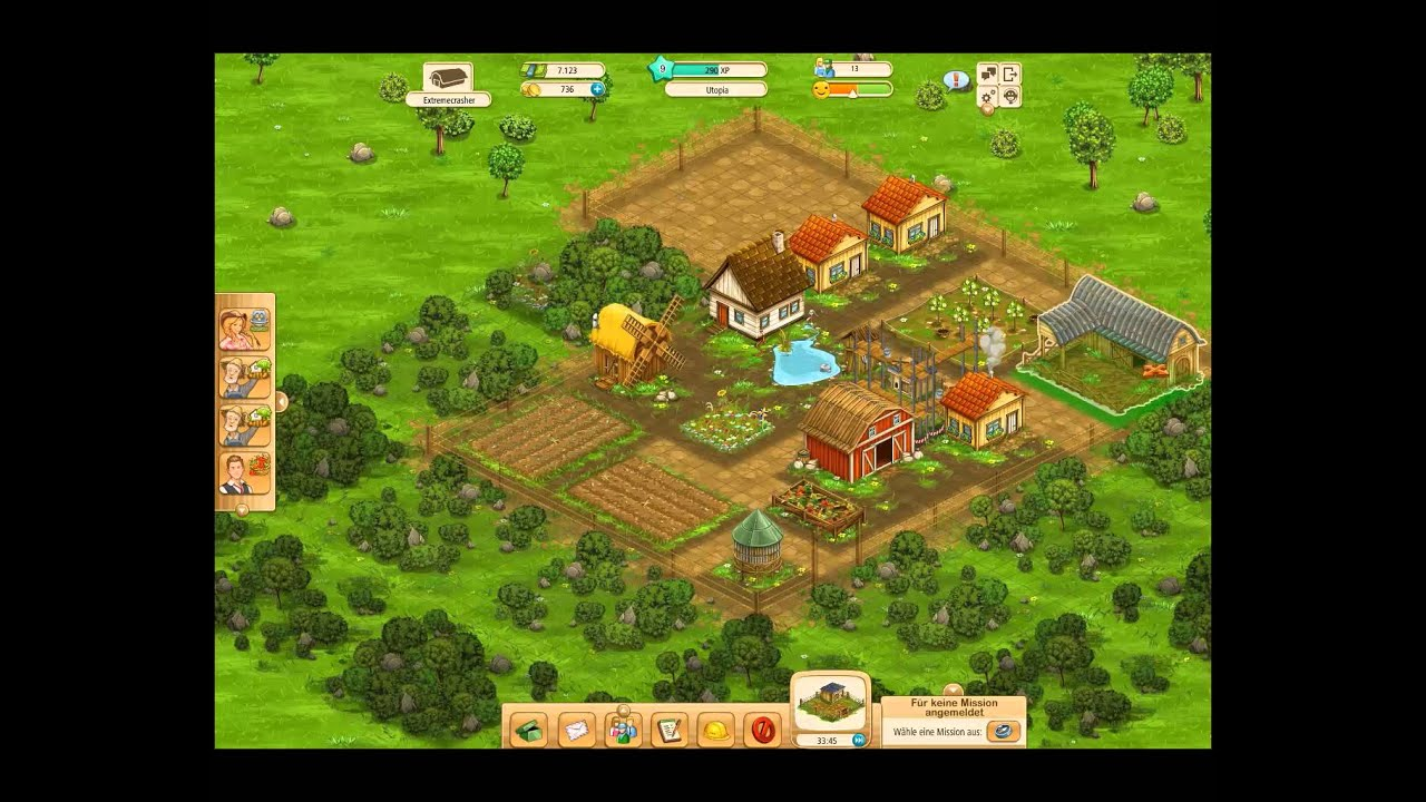 Let's Play Big Farm #4 - Level up! - YouTube Goodgame Big Farm