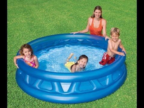 Каркасный бассейн Intex прямоугольный Ultra Frame Pools - обзор .