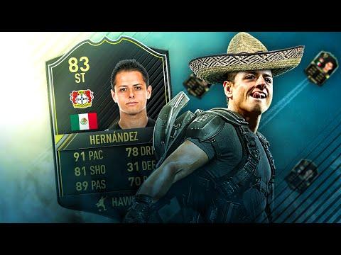 SUPER SPEED JAVIER CHICHARITO HERNANDEZ MY BEST FIFA 17 STARTER SQUAD! FIFA 17 ULTIMATE TEAM