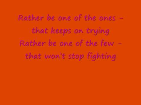 Amy Diamond- One of the One`s Lyrics
