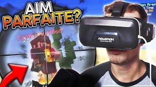 JOUER A MINECRAFT EN RÉALITÉ VIRTUEL ! UNBOXING CASQUE VR 3D