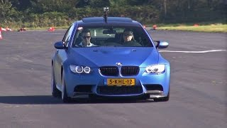 BMW M3 E92 Coupé M-Performance - Acceleration Sounds!