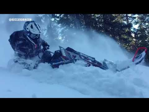 Snowmobiling Ross Robinson, Riding montage 1