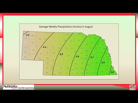 Part 5 How to Schedule Irrigations with Soil Water Data: End of Season Irrigation Scheduling