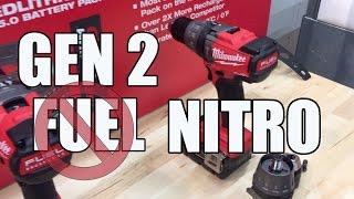Milwaukee Tool FUEL GEN 2 Drills 2703-22 - First Look