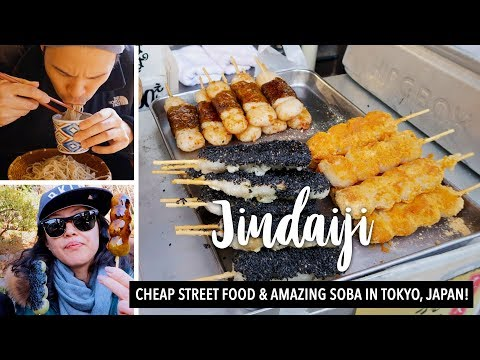 CHEAP STREET FOOD AT 1/2 THE PRICE?! JINDAIJI TEMPLE 🇯🇵Hidden Local Tokyo Attraction | MRE 14