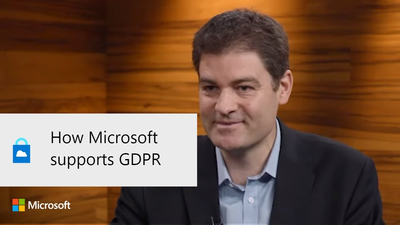 How Microsoft supports GDPR