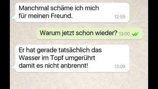 ♥️ Die lustigsten WhatsApp Chatverläufe #2