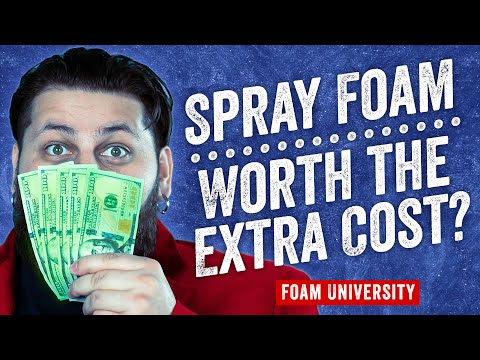 Is Spray Foam Insulation Worth The Extra Cost Foam University Youtube