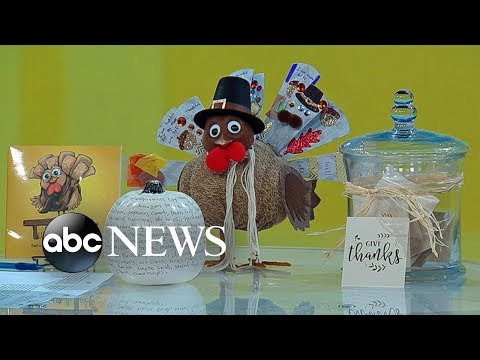 Willie Moore Jr. - WATCH! Creative ways to teach children gratitude this Thanksgiving