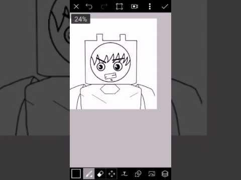 Mi primer Dibujo Hecho en android | FinnGames