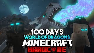 100 Days in a World of Dragons in Minecraft Hardcore... Here&#39s What Happened!