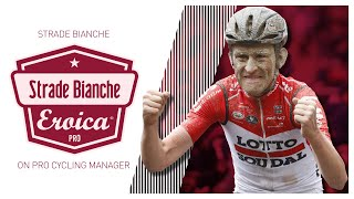 STRADE BIANCHE 2020 // Pro Cycling Manager 2020 // @Timmsoski