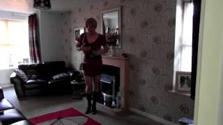 diane mccrae pink with boots ( crossdresser )