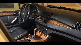 BMW X5 - ХимЧистка за 15к. Стоит ли того?!