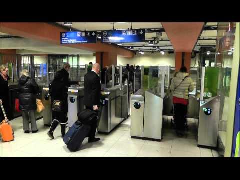 How to go by metro: Gare du Nord - Gare de Lyon in Paris