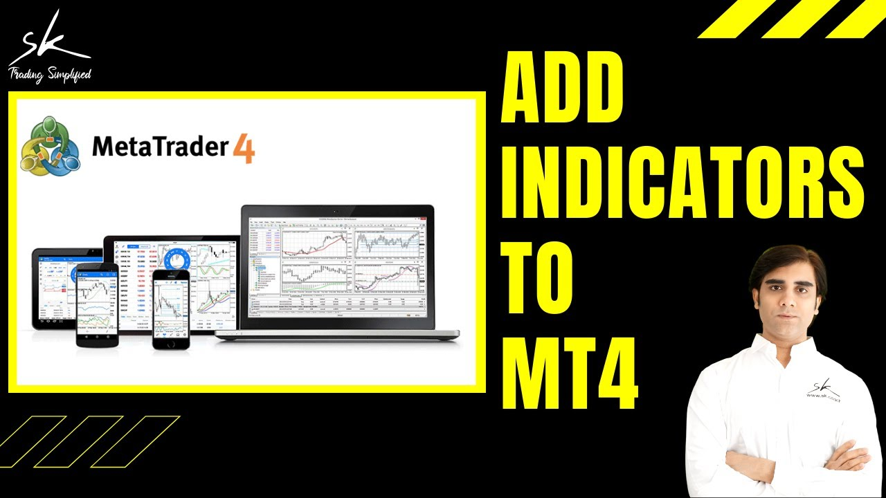How To Add Custom Indicators To Metatrader Mt4 Youtube