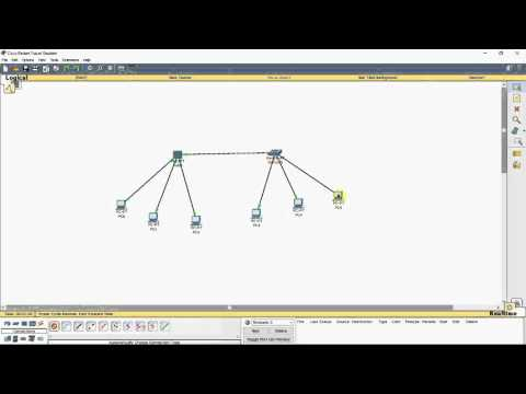 CISCO Packet Tracer - Create network topology using hub and switch and analyze the ping command