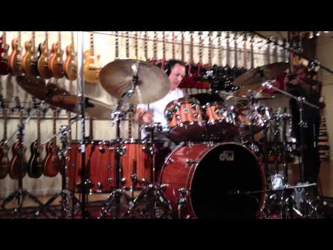 """Jimmy Chamberlin playing """"Tonight, Tonight"""""""
