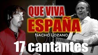 """""""QUE VIVA ESPAÑA"""" CON 17 CANTANTES"""