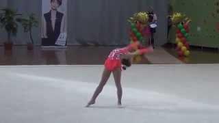 Милена Шмелёва.7лет. Художественная гимнастика.Дети 2008 г.р.