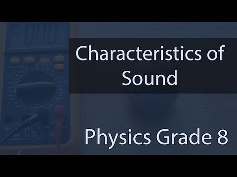 Sound | Characteristics Of Sound | Examples & Diagrams | Lecture 10