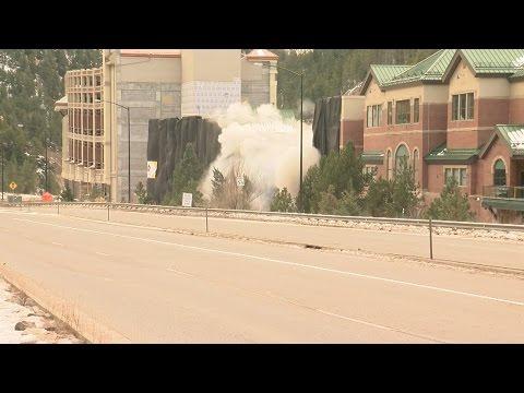 Monarch Casino's parking garage in Black Hawk imploded